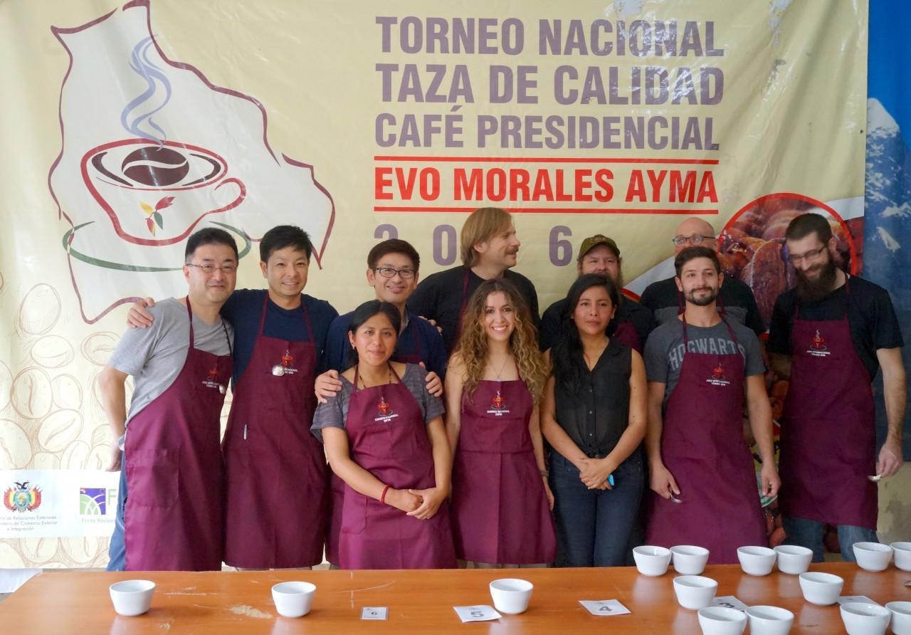 コーヒー豆の国際品評会、ボリビア大統領杯に参加しました ③