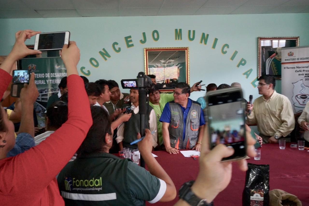 Bolivia大統領カップ 2016