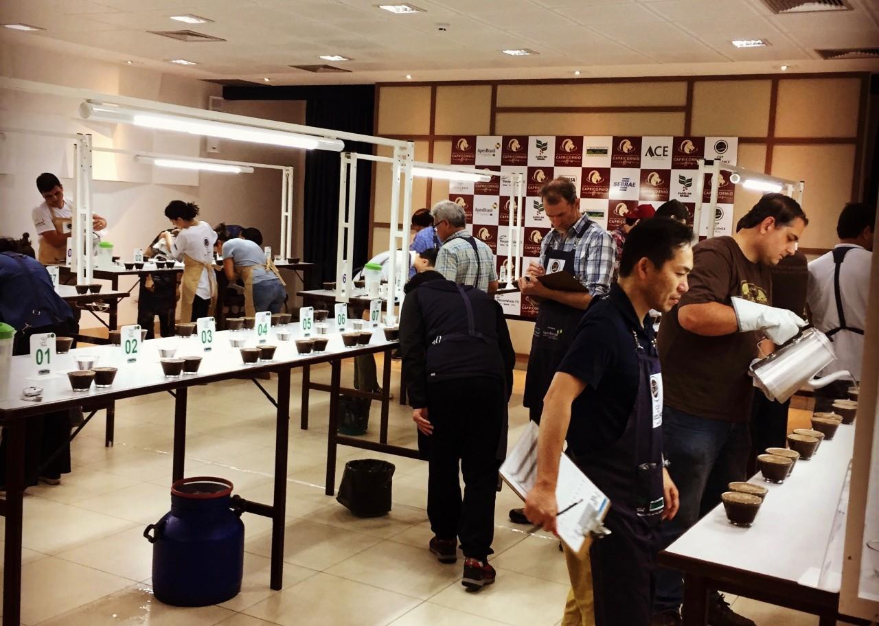 コーヒー豆の国際品評会 カップ・オブ・エクセレンス ブラジル2016へ参加しました ②